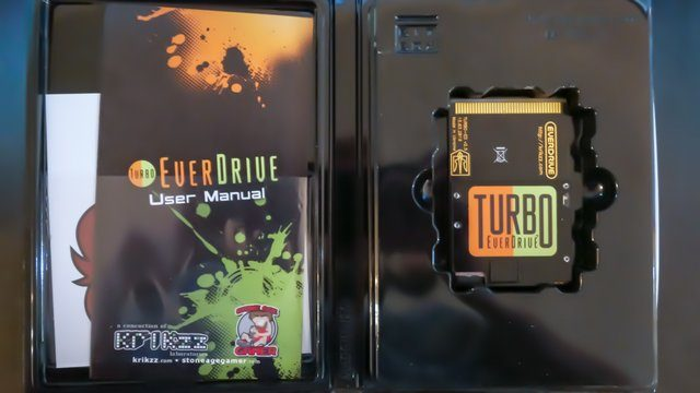 Turbo Everdrive Review Case Open