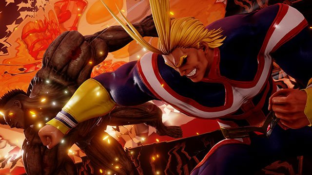 Jump Force All Might punches out Toguro