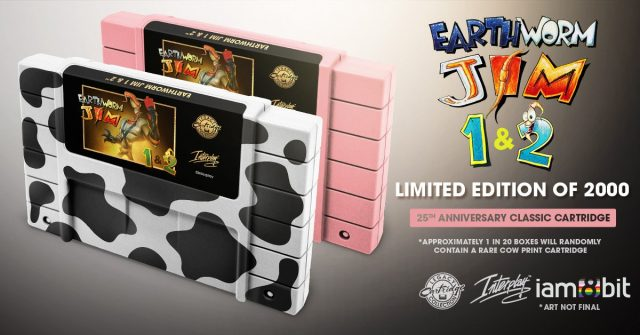 Earthworm Jim Carts iam8bit