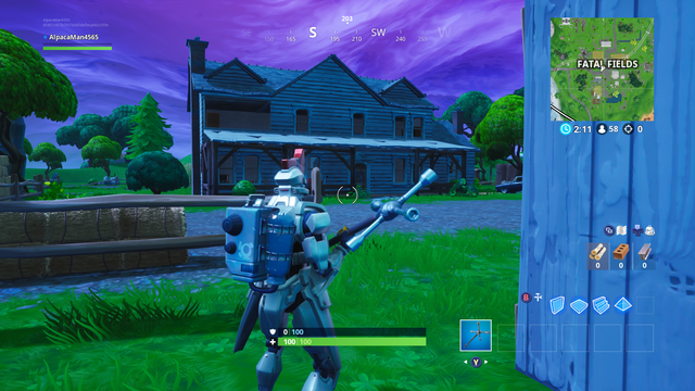 Fortnite Fortbyte 24 Fatal Fields