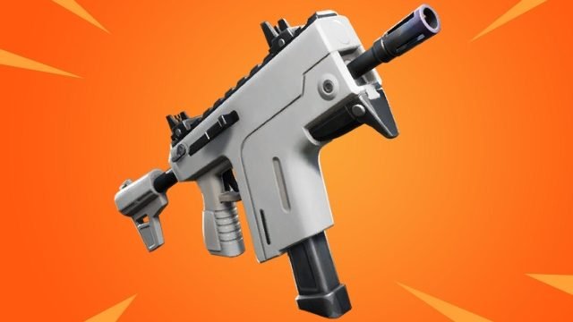Fortnite Burst SMG Stats