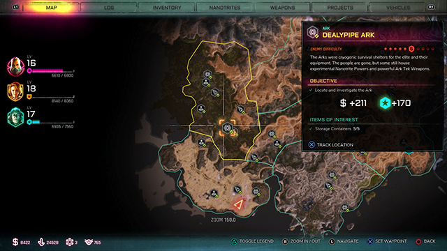 Rage 2 Ark Locations | Barrier, rocket launcher, shotgun, and more