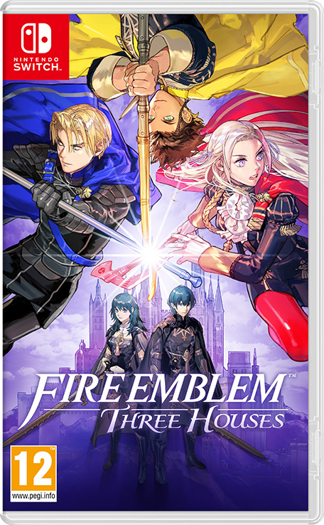 Box art - Fire Emblem: Three Houses