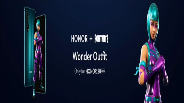 Fortnite Wonder Skin | How to unlock Honor 20 Wonder outfit