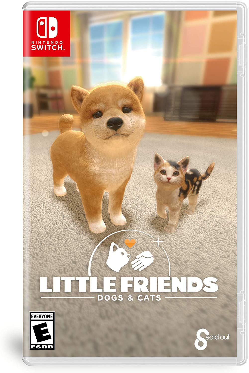 Box art - Little Friends: Dogs and Cats