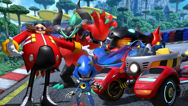 Team Sonic Racing Switch lacks an intro cutscene
