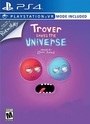 Box art - Trover Saves the Universe Review | A squanchin' decent time with some squanchin' problems