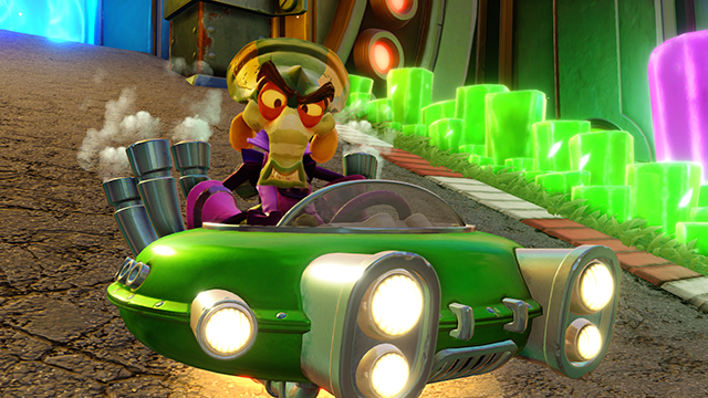 Crash Team Racing Nitro-Fueled Time Trial times