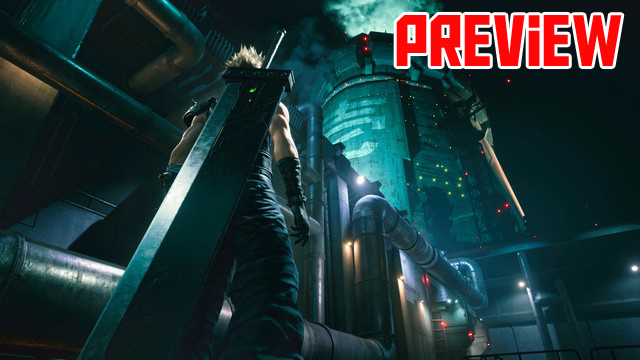 Final Fantasy 7 Remake Preview Header