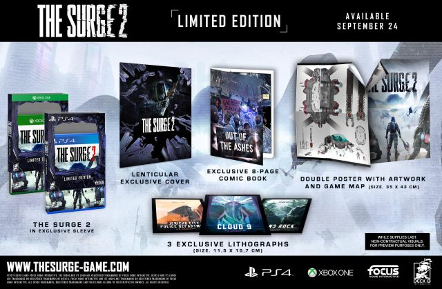 The Surge 2 Pre-order Guide | All The Surge 2 editions and