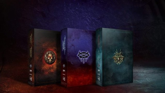 baldurs gate and other d d classics getting collectors editions