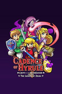 Box art - Cadence of Hyrule