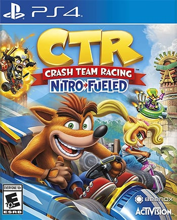 Box art - Crash Team Racing Nitro-Fueled