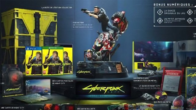 Cyberpunk 2077 Collector's Edition leaked for PS4, PC, and Xbox One