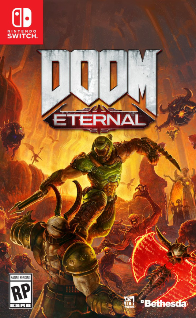 The Doom Eternal box art has been revealed (and it's