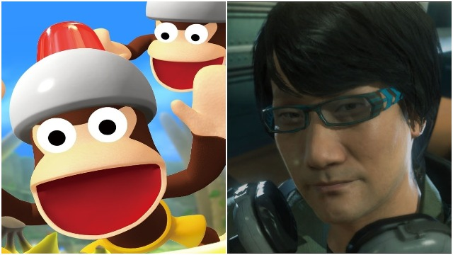 new ape escape game hideo kojima