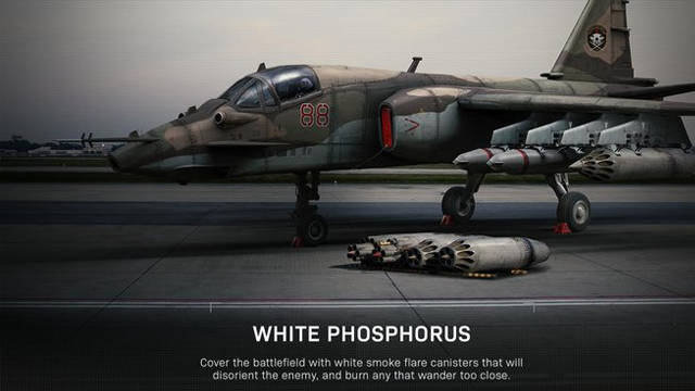 call of duty killstreaks white phosphorus