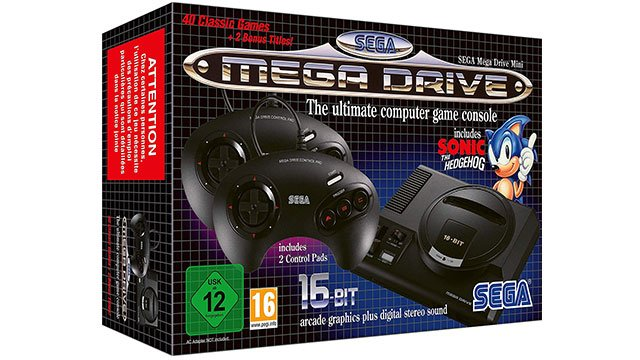 Sega Mega Drive Mini delayed in Europe
