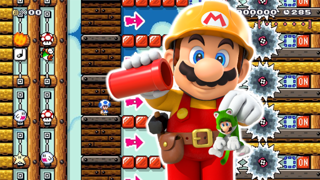 super mario maker 2 levels devs