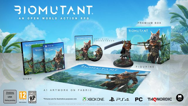 Biomutant special editions Collector's Edition
