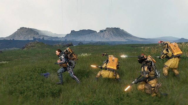 Death Stranding Gameplay Fields