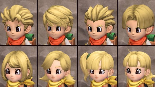 Dragon Quest Builders 2 final free update new hairstyles