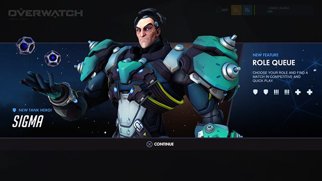 Overwatch 2.72 Update Patch Notes | Sigma, balance changes, Role Queue beta, and more