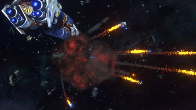 Rebel Galaxy Outlaw more Explosions