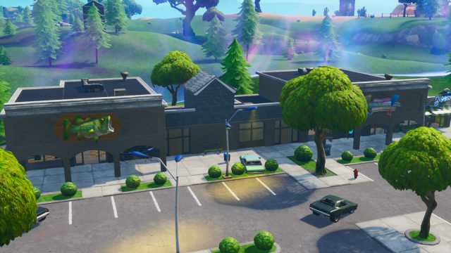 Fortnite Retail Row
