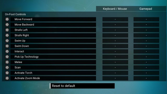 No Man's Sky Remap Keys Bug fix