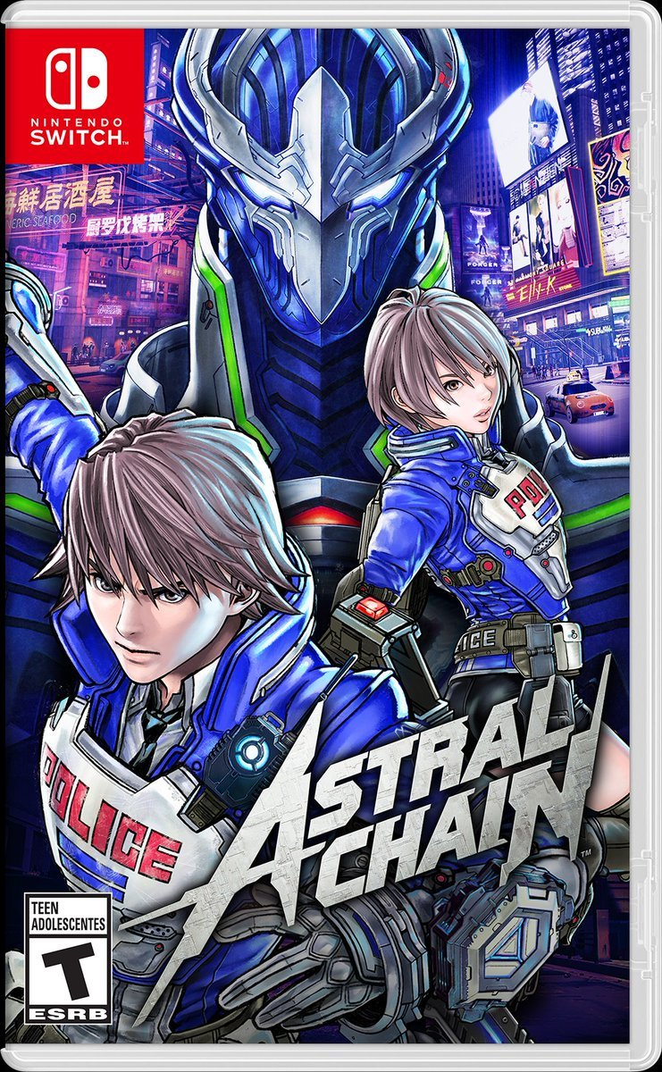 Box art - Astral Chain