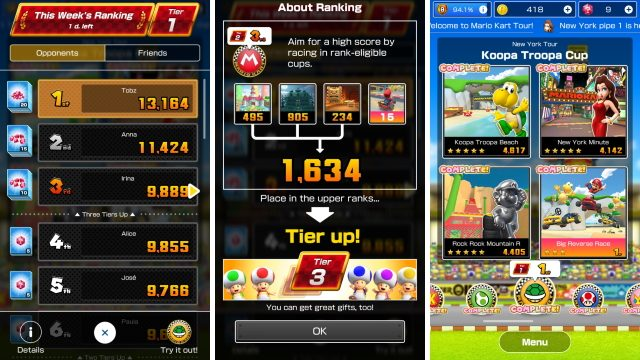 Mario Kart Tour How To Reach Tier 5 Tiers Explained Gamerevolution