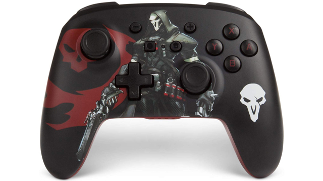 PowerA Overwatch Switch controller features mappable buttons