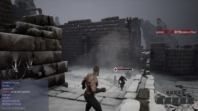 Rune II Fists Gameplay Multiplayer Beta