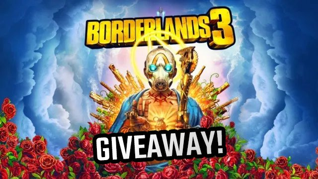 borderlands 3 giveaway