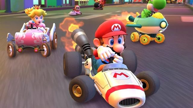 mario kart tour drifting controls