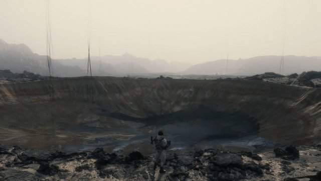 Death Stranding Review Voidout Crater