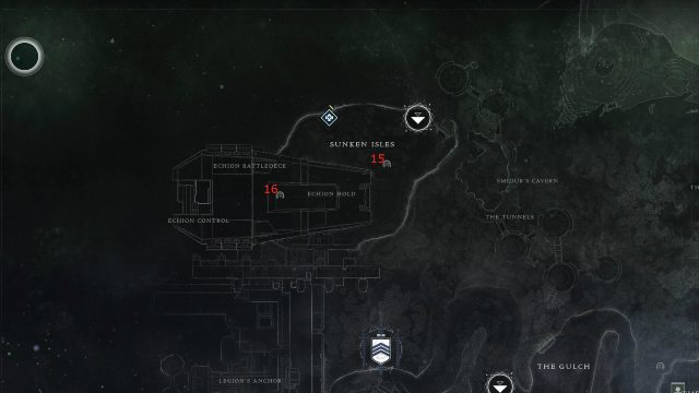 Destiny 2 EDZ Lost Sector locations 15 and 16