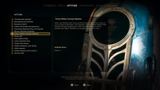 the outer worlds best builds aptitude melee