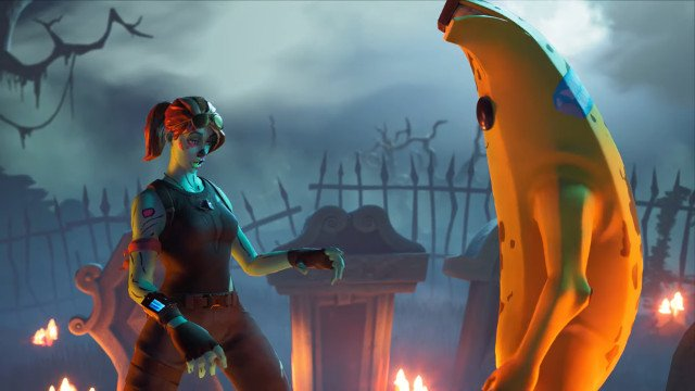 The Fortnite Peely Halloween Skin Is Creepy As Hell