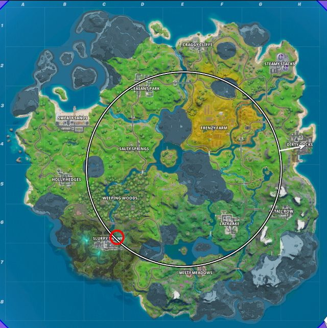 Fortnite Forged in Slurp Challenges Cheat Sheet ...