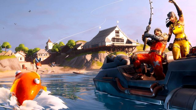 Fortnite Fishing Frenzy Tournament dates times prizes