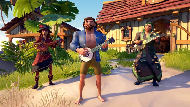 Sea of Thieves Fort of the Damned Duelling Banjos