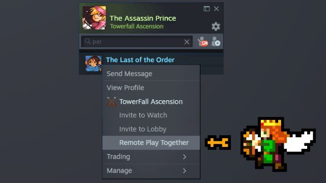 Steam Remote Play Together guide instructions