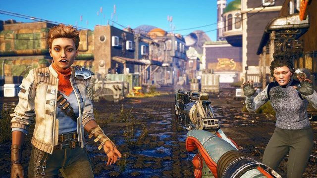 The Outer Worlds Dark Character Model Bug