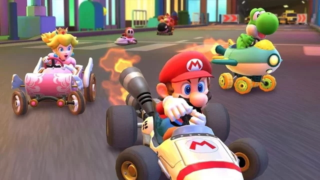 how to send gifts in mario kart tour