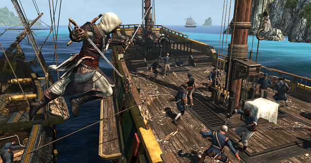 Assassins Creed Rebel Collection Ship Boarding