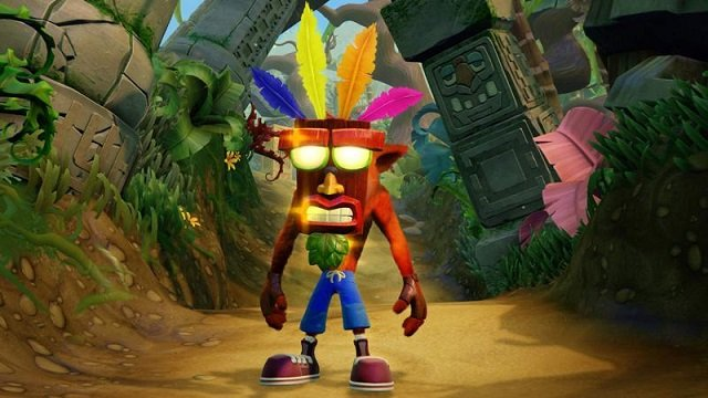 Crash Bandicoot N. Sane Trilogy State of Play Promo Art