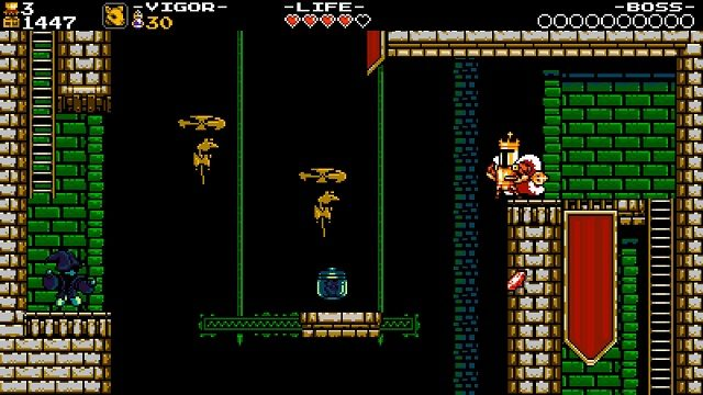 Shovel Knight King of Cards Platforming