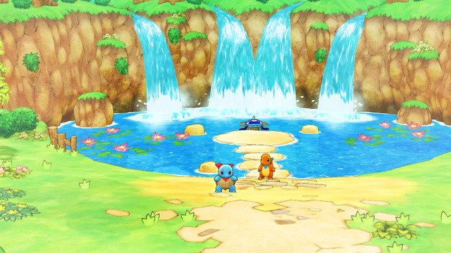 Pokemon Mystery Dungeon DX Whiscash Pond